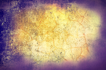 smeared: Purple orange modern background based on texture of painted wall.