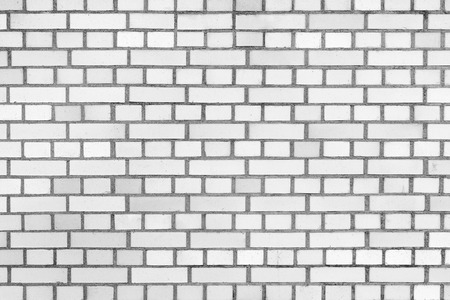 Background of white brick wall texture. Abstract image. Stock Photo