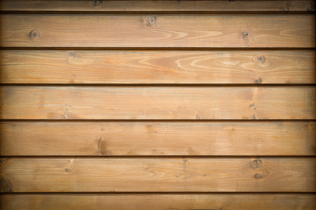 Brown, horizontal  planks. Texture of wood. Stock Photo
