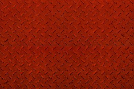 Rusty red, non slip steel texture. Background of metal.