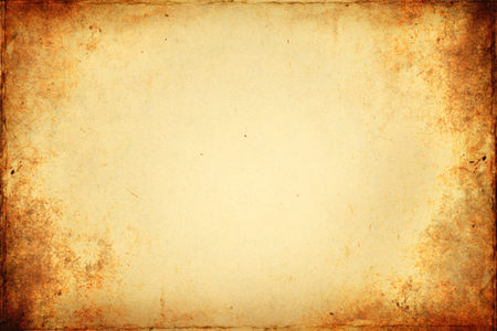 Old brown paper texture with vignette.
