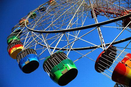 ferris wheel: Ferris wheel Stock Photo