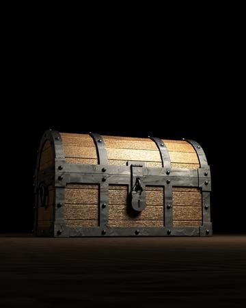 A mystery treasure box Zdjęcie Seryjne