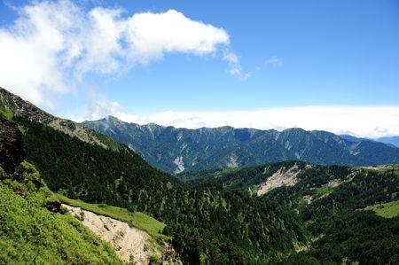 Paysage c�l�bres Taiwan : Hehuan de montagne dans le parc national de taroko