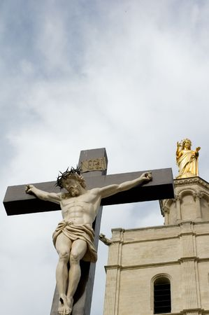 J�sus et la m�re de Dieu � Marseille