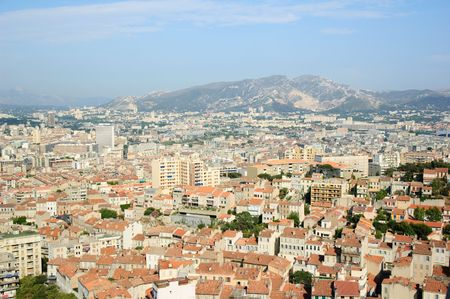 The full view of Marseille