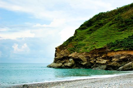 tropic beach and coast
