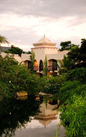 Centre de vill�giature tropical en Asie
