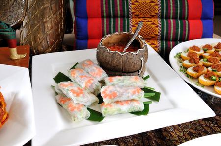 Vietnamese Style Spring Roll.