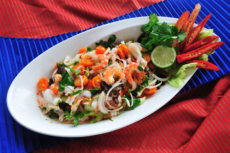 fres: Thai Spicy Seafood Salad