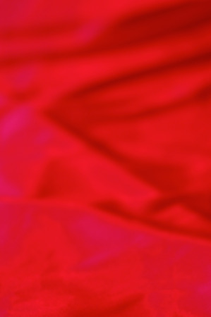red silk abstract Blurred background