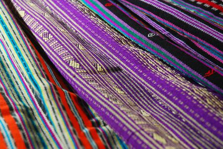 Traditional woven texture from Indonesia