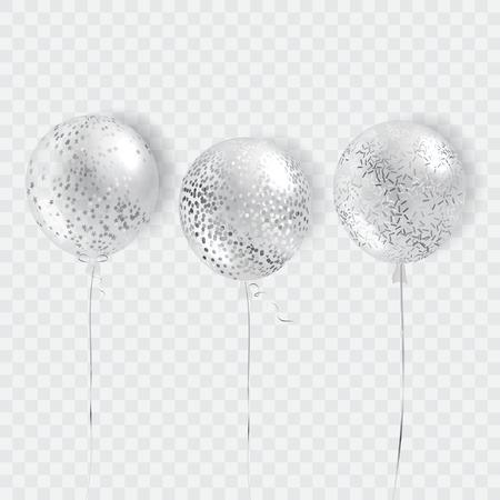 Ballonnen vector geïsoleerd Stock Illustratie