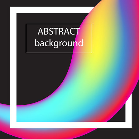 Abstract background with shapes. Vector stock.