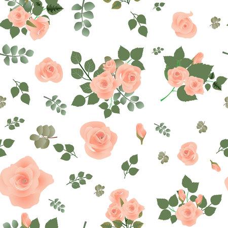 Floral pattern seamless. Vector stock. Stockfoto - 104226410