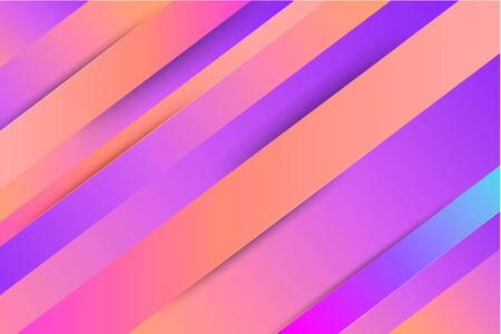 Abstract geometric colorful banners. Set - vector stock.