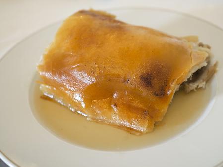 Roast suckling pig traditional cuisine of Segovia, Spain