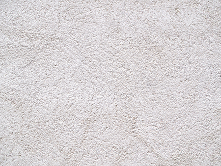 gritty: Decorative background wall with cement and sand textured white Stock Photo