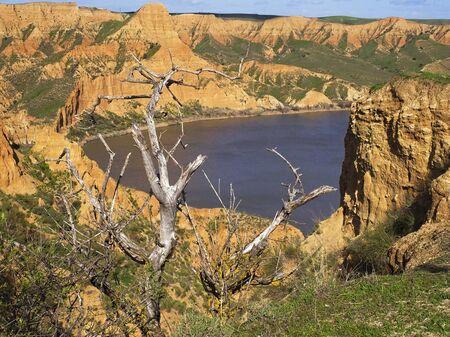 Barrancas de Castrejón and Cala? ? a sedimentary formation of the Tagus river course, between the municipalities of Burujón, Albarreal de Tajo and La Puebla de Montalbán. Toledo, Spain