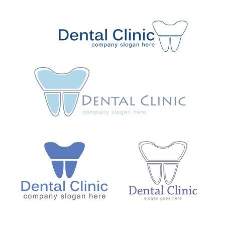 Dental logo Template vector illustration icon design - Vector illustration