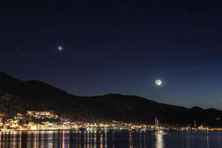 fethiye: Fethiye City Night View