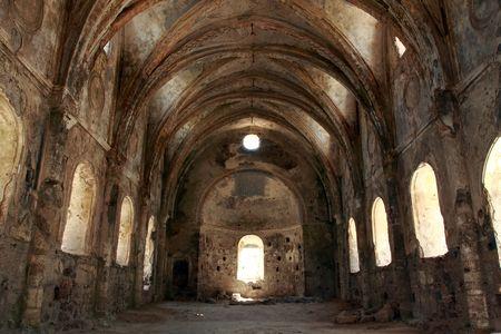 church in ruins