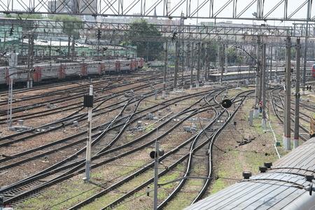 transportaion: Railways near the train station