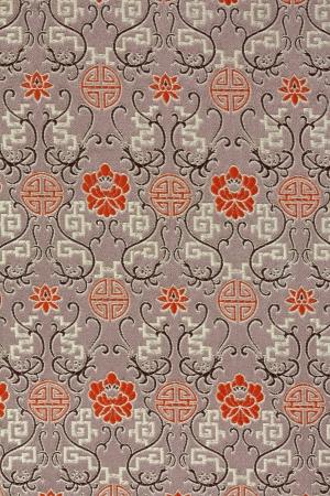 Oriental Silk Fabric Pattern