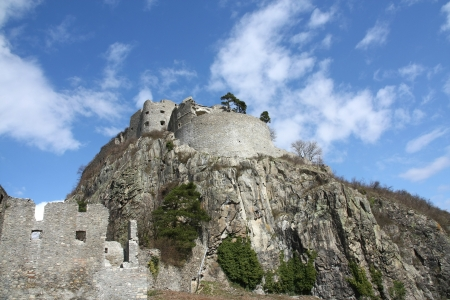 Medieval Castle Ruins at Hohentwiel, Germany