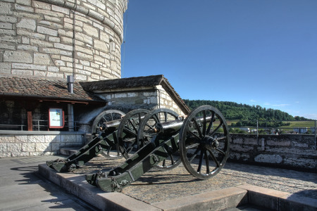 Canons on the Munot Castle