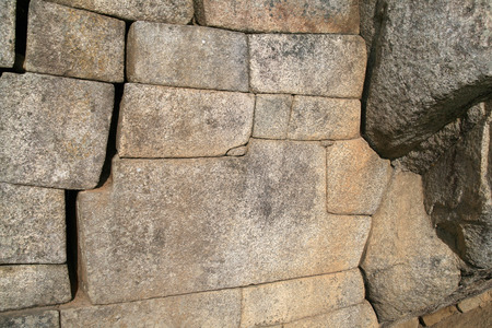 inca architecture: The famous 12-angled stone in ancient Inca architecture, Machu Picchu, Peru