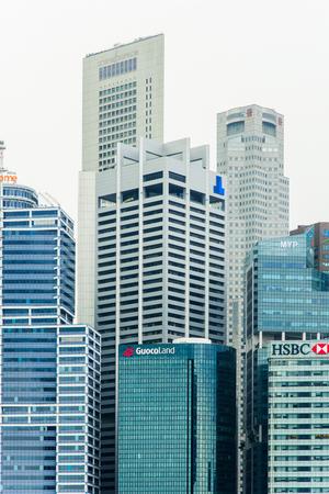 シンガポールの街の風景