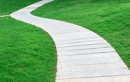 Paths on the green