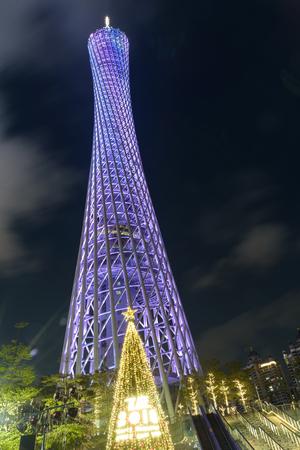 canton tower, guangzhou 報道画像