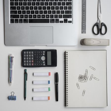 Some office supplies and tools used in daily use