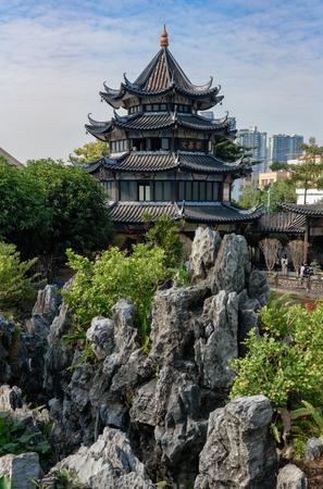 ancient pavilion scenery