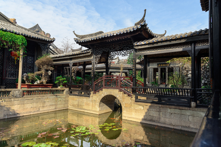 ancient building scenery