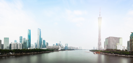 Canton Tower and Zhujiang New Town