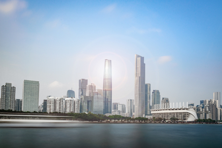 Haixinsha and Zhujiang New Town 報道画像