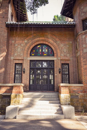 Entrance of classical architecture 新聞圖片