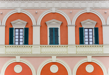 Classical building ,closeup 写真素材