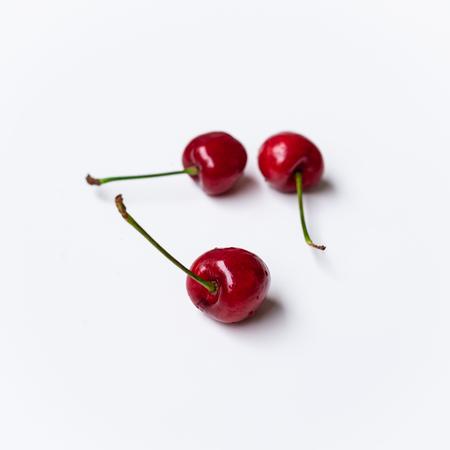 Three cherries 写真素材