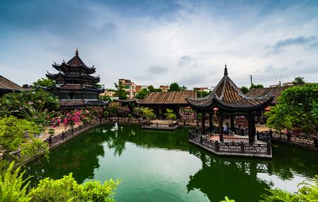 The scenery of Yuyin Shan Fang Ancestral Garden 報道画像