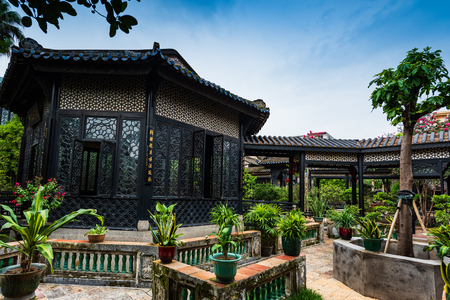 The scenery of Yuyin Shan Fang Ancestral Garden 新聞圖片
