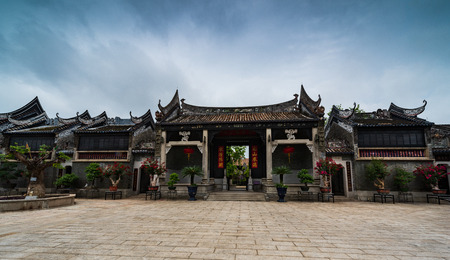 The scenery of Yuyin Shan Fang Ancestral Garden 報道画像