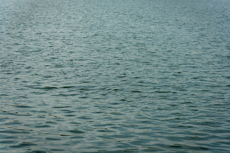 water surface of river