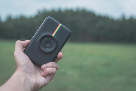 lomo snap Camera self timer