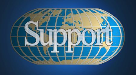 A world business and World support concept Stock Photo - 2859454