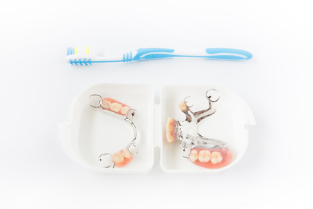 surgery expenses: Dental hygiene and cleanliness concept with a toothbrush