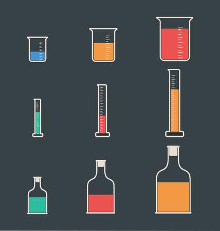 laboratory equipment: Laboratory equipment icons